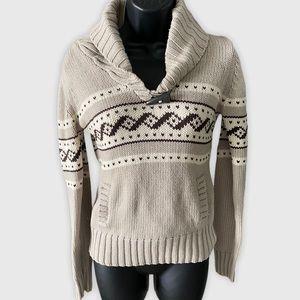 TNA Aritzia Lambswool Pullover Sweater Small